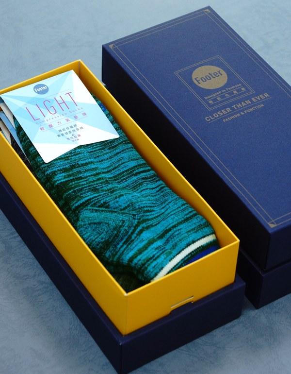 極地探險家運動輕壓力襪3入禮盒組