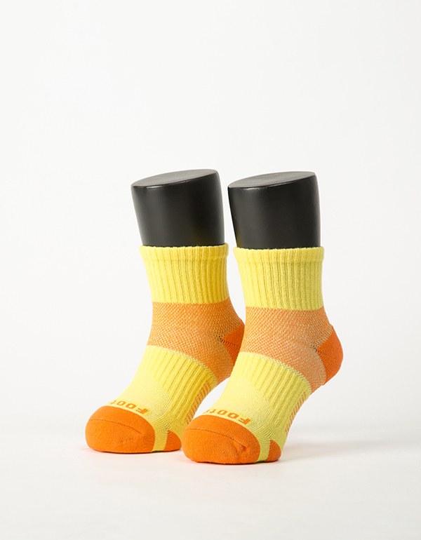 輕壓力網狀運動氣墊襪