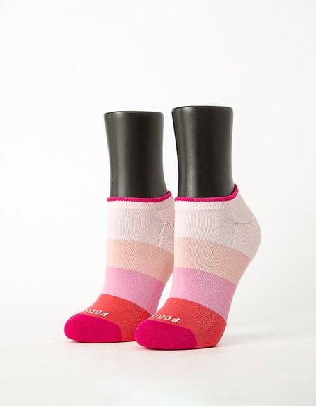 漸層果凍微分子船短襪