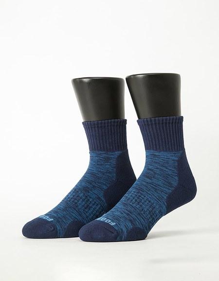 花紗設計款氣墊運動襪