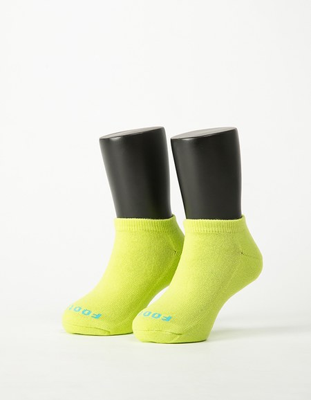 單色運動氣墊船短襪